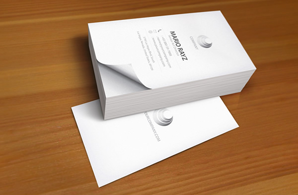 Senior art director Business card