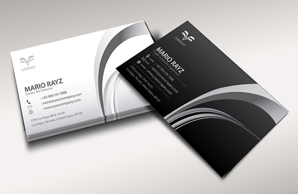 Air controller corporate business card