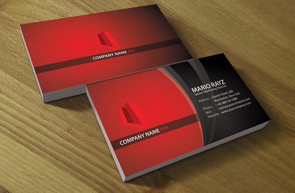 Red Tower Property Business card